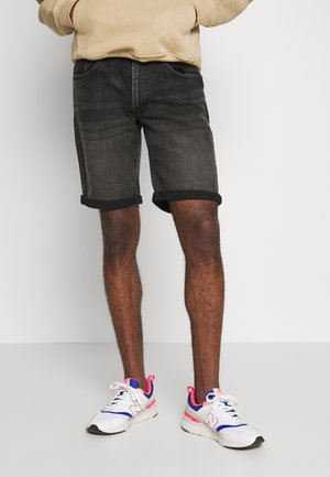 COPENHAGEN - Denim shorts - black rock