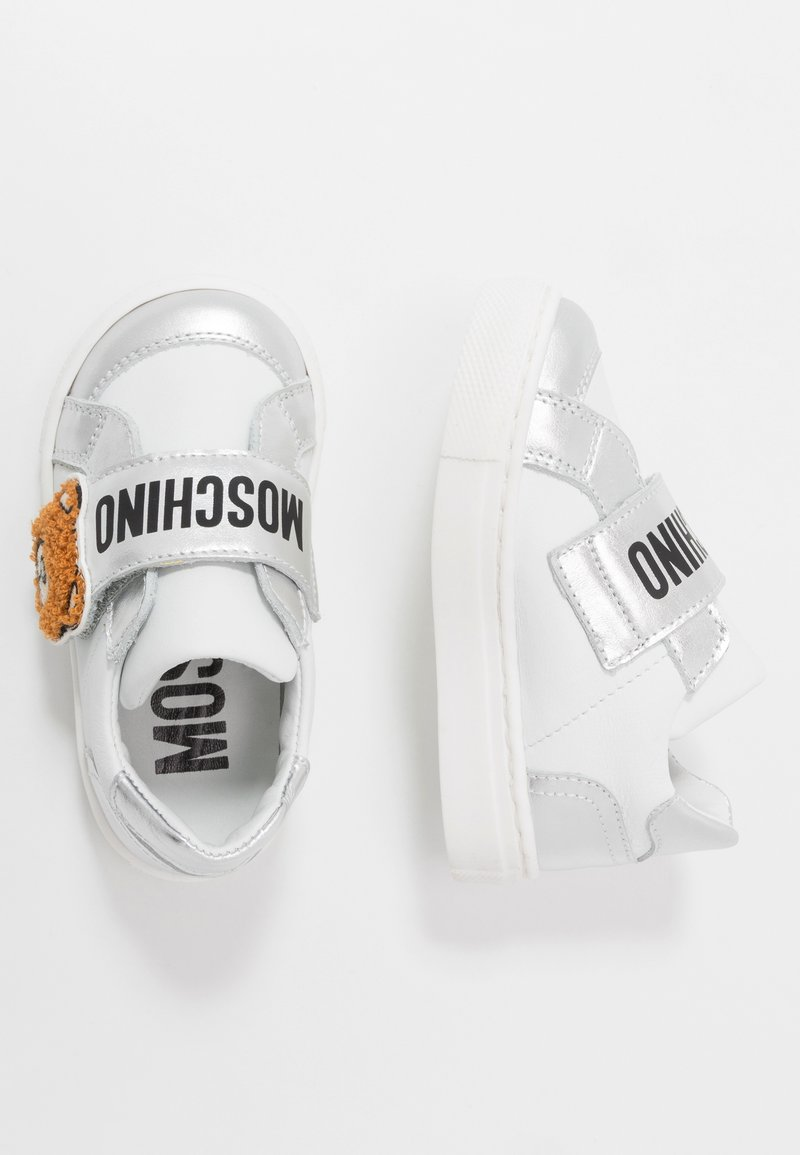 MOSCHINO - Sneaker low - silver