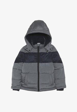 Winter jacket - graumeliert mittel