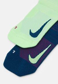 Nike Performance - MULTIPLIER CREW 2 PACK UNISEX - Sports socks - multicolor - 1