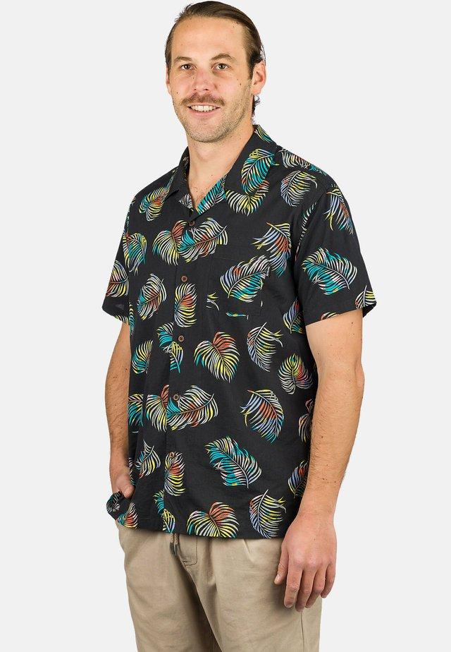 BOTANICAL - Shirt - black