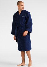 TOM TAILOR - BASIC KIMONO - Dressing gown - navy - 1