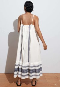 OYSHO - STRAPPY  - Day dress - white - 2