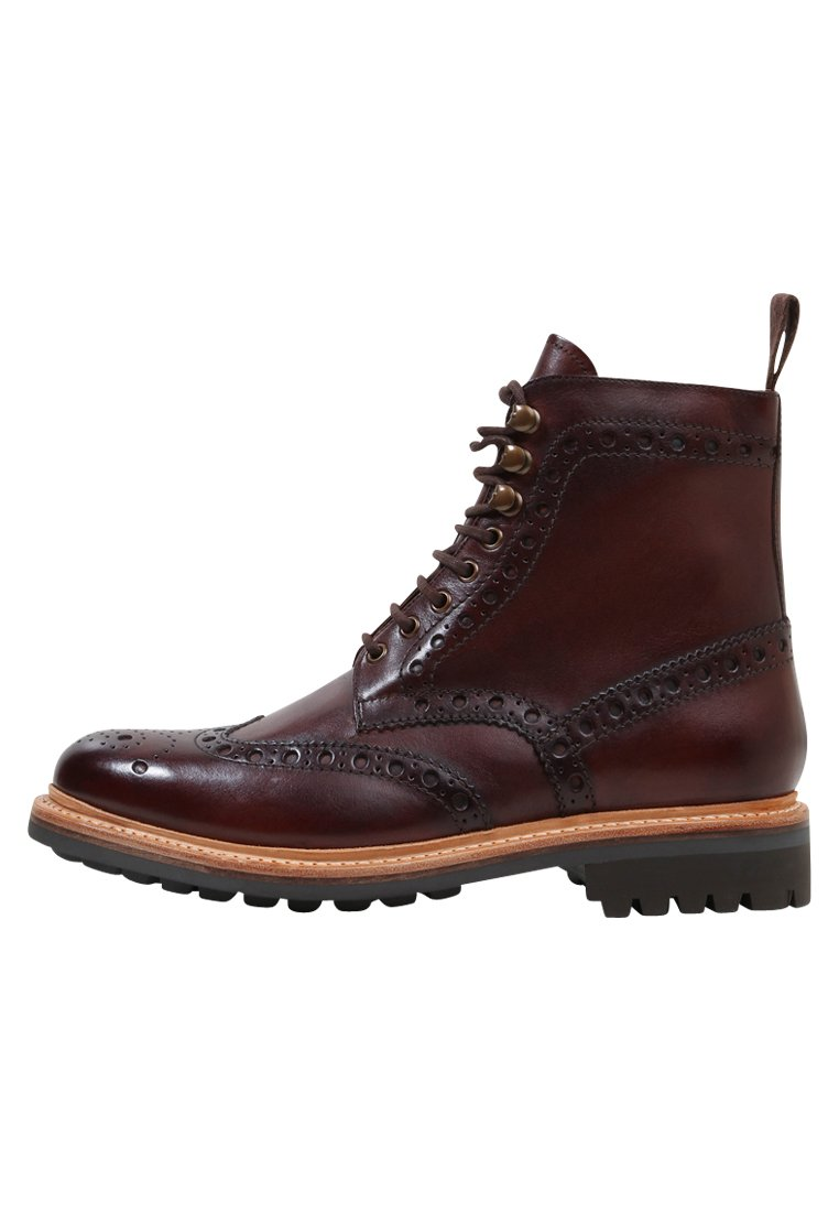 Homme FRED - Bottines à lacets - brown