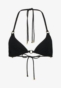 Agent Provocateur - MALISA SKIMPY STRAPPY TRIANGLE - Bikini top - black - 4