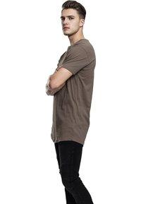 Urban Classics - SHAPED LONG TEE DO NOT USE - T-shirt - bas - army green - 3