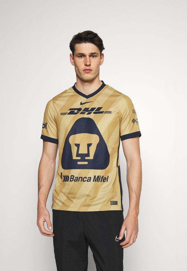 PUMAS - CLUB WEAR - Fanartikel - truly gold/jersey gold/obsidian