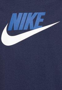 Nike Sportswear - FUTURA ICON - T-shirt print - midnight navy/white - 2