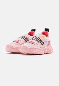 MOSCHINO - Trainers - light pink - 1