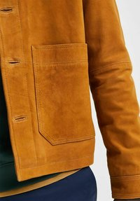 Selected Homme - KNOPFLEISTE  - Leather jacket - monks robe - 4
