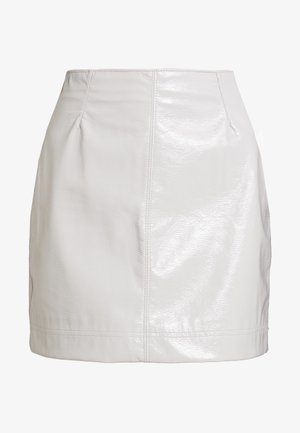 LUCY SKIRT - Áčková sukně - beige dusty light