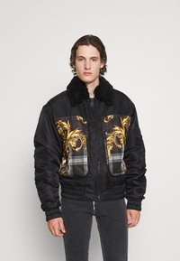 Versace Jeans Couture - DIAGONAL  - Bomber Jacket - nero - 0