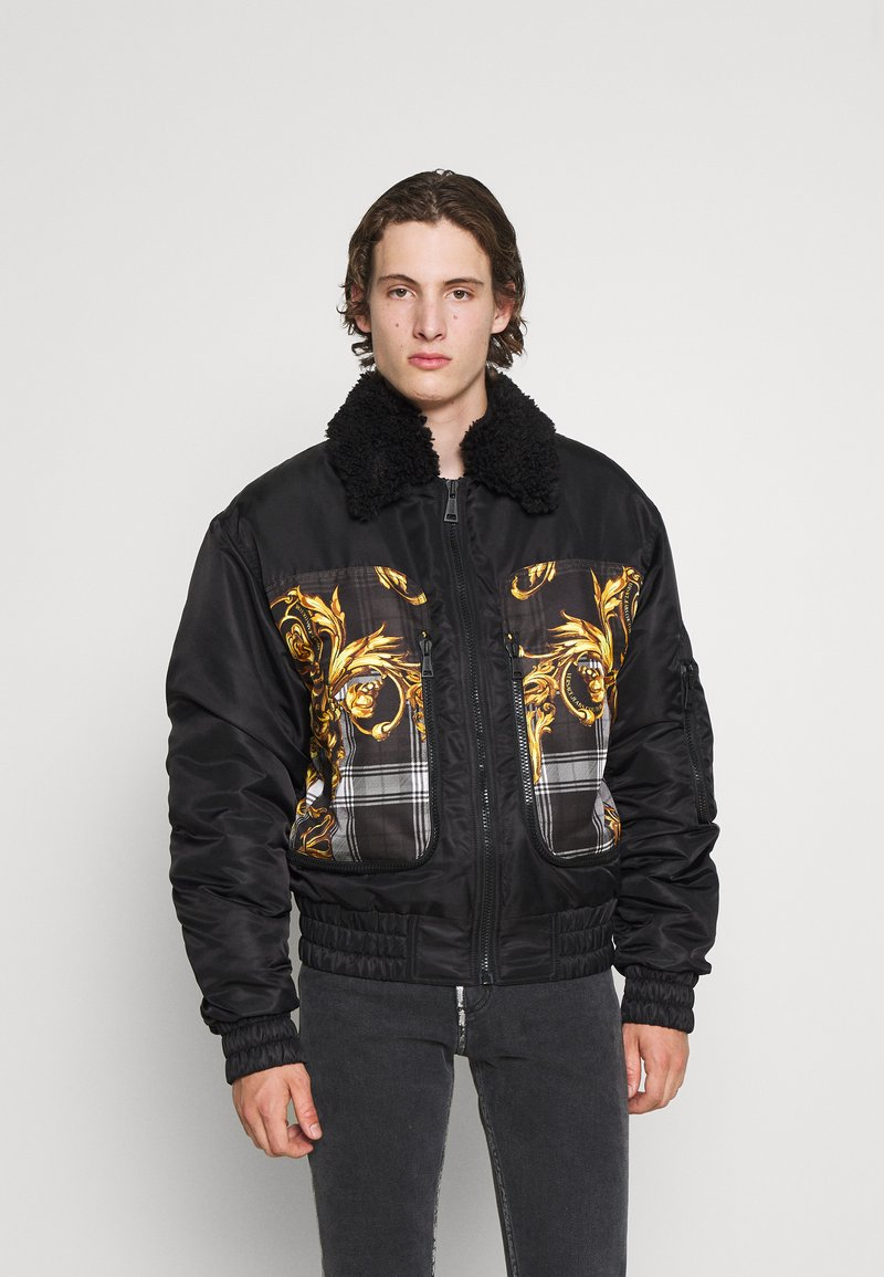 Versace Jeans Couture - DIAGONAL  - Bomber Jacket - nero