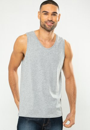 THREADBARE TANK-TOPS VEST BASIC 3 PACK - Tílko - multi