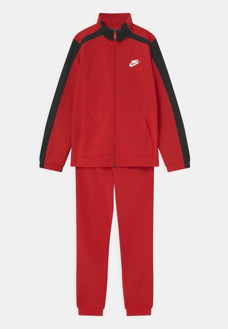 Nike Sportswear - TRACKSUIT SET UNISEX - Treningsdress - university red/black/white