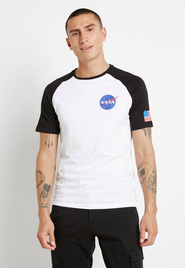 ONSNASA TEE - T-shirt z nadrukiem - white