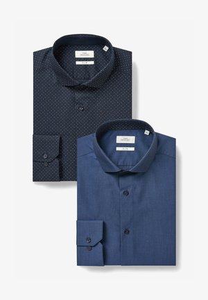 2 PACK - Camicia - dark blue