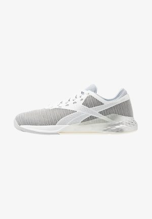 NANO 9 - Treningssko - cold grey/silver metallic/white