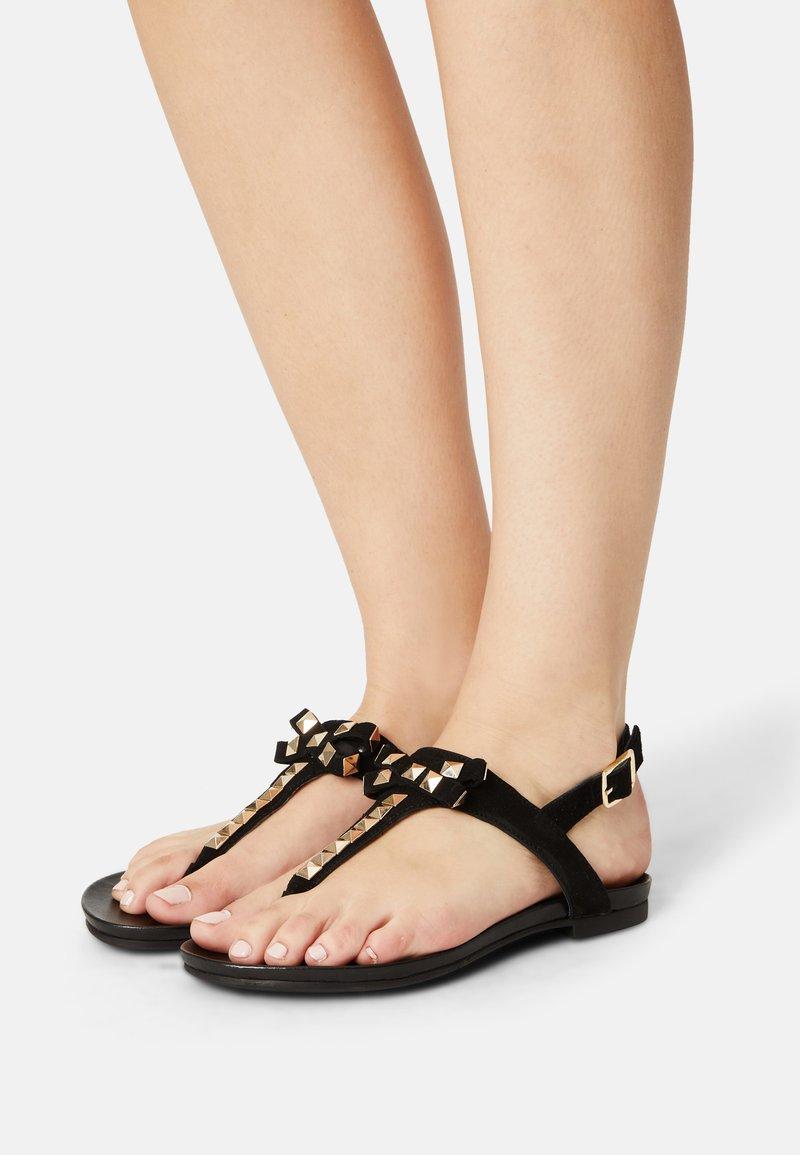 Copenhagen Shoes - MAY - T-bar sandals - black