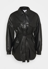 Topshop - CARLOS  - Short coat - black