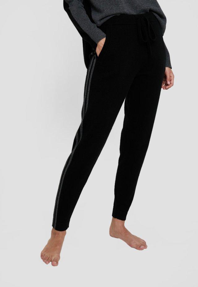 LAURA - Pyjamabroek - black