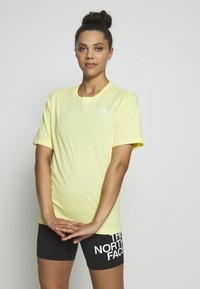 The North Face - W BF SIMPLE DOME - T-shirts - stinger yellow - 0