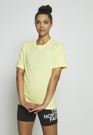 SIMPLE DOME - Basic T-shirt - stinger yellow