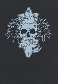 Quiksilver - NIGHT SURFER - T-shirt con stampa - black - 2