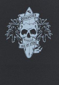 Quiksilver - NIGHT SURFER - Print T-shirt - black - 2