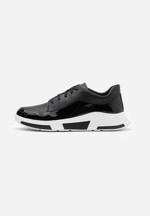 FREYA - Sneakersy niskie - all black