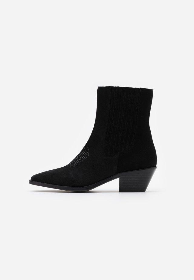 TYLER  - Kovbojské/motorkářské boty - noir