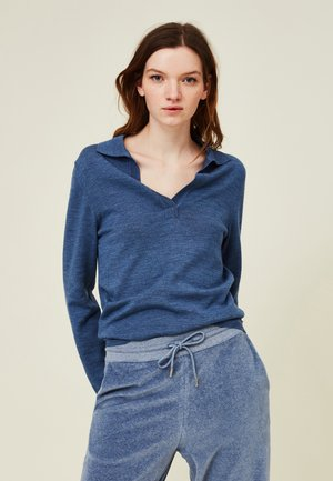 HANA  - Sweatshirt - blue melange