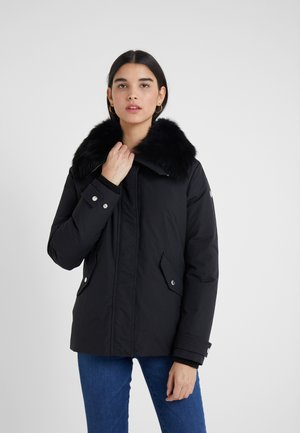 PETREL JACKET - Down coat - black