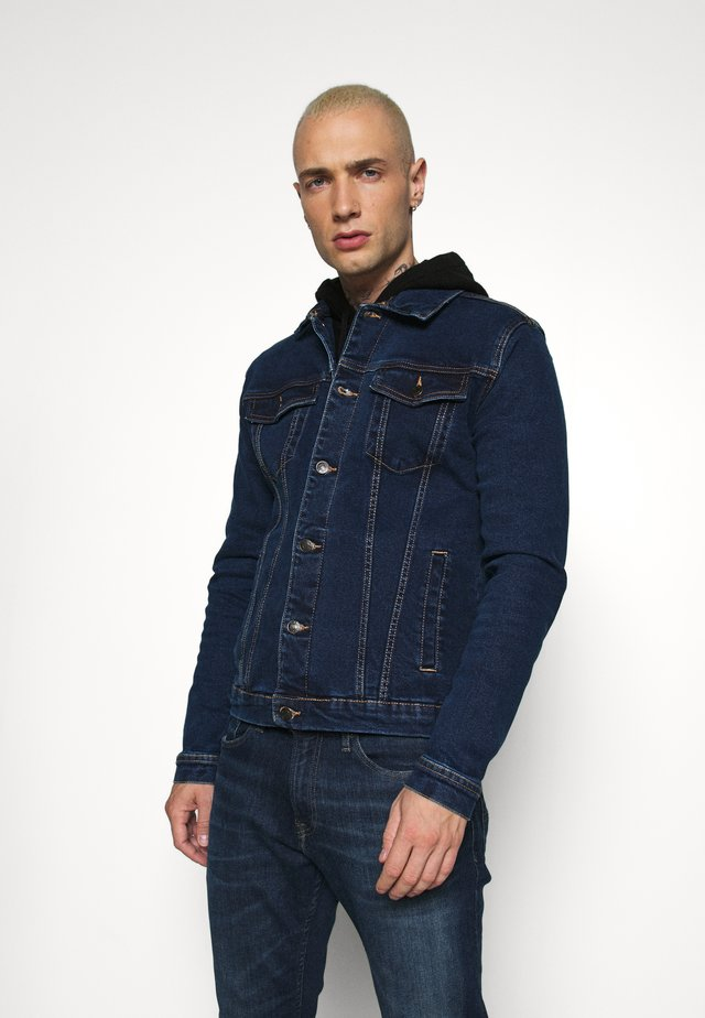 KASH JACKET - Denim jacket - dark blue