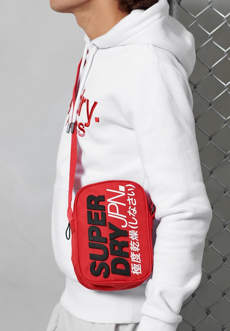 Superdry - Across body bag - red