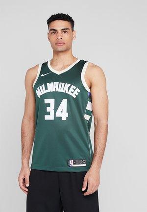 NBA GIANNIS ANTETOKOUNMPO MILWAUKEE BUCKS SWINGMAN ROAD - Club wear - fir/flat opal