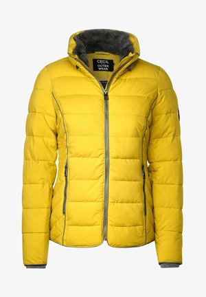 MIT STEPPUNG - Winter jacket - gelb