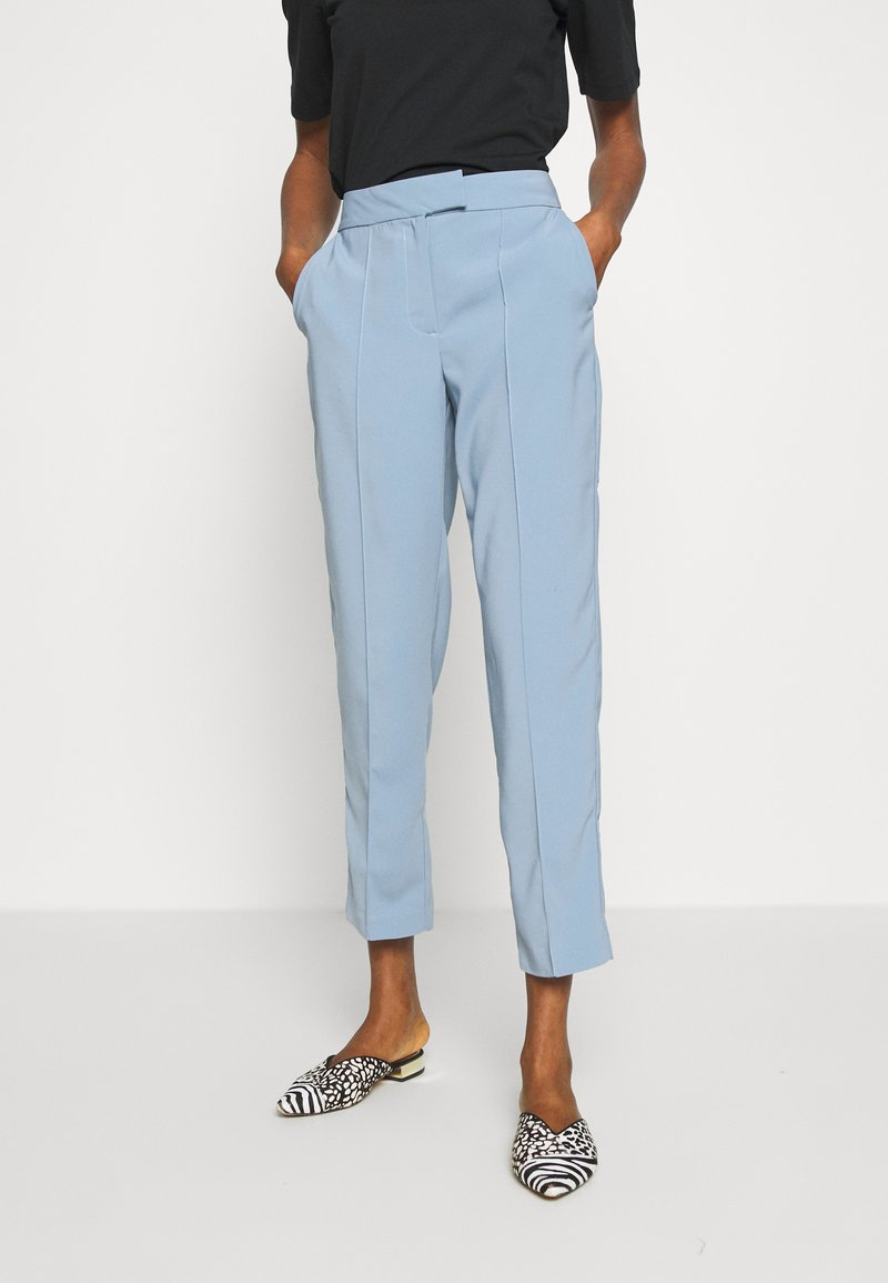Vila - VINAHLA - Pantalones - light blue