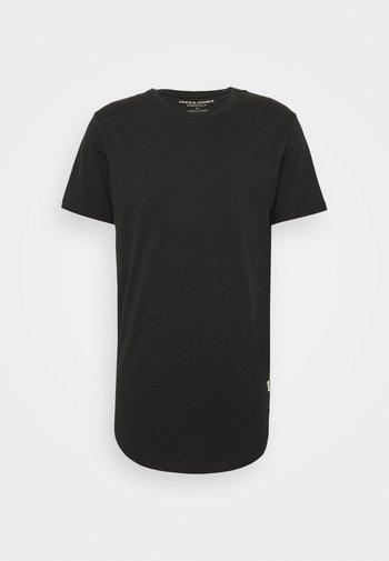 JJENOATEE CREW NECK - T-paita - black