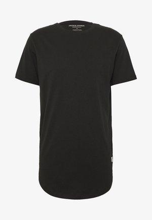 JJENOATEE CREW NECK  - Jednoduché triko - black
