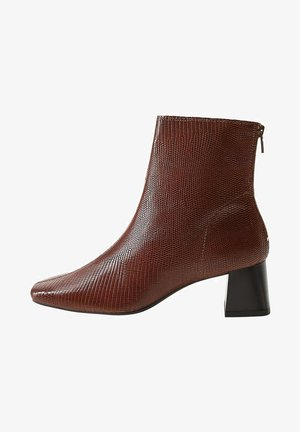 SOL1 - Classic ankle boots - kognac