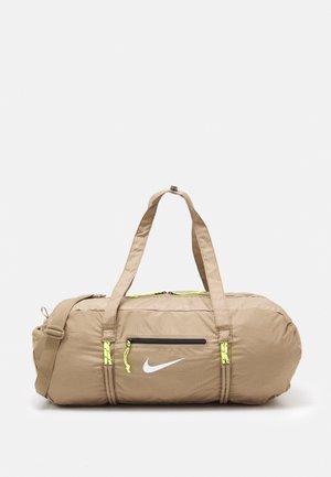 UNISEX - Sportovní taška - sandalwood/white
