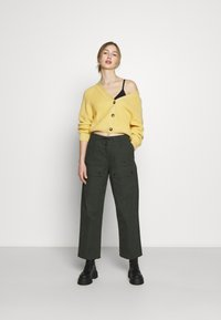 Monki - Vest - yellow - 1