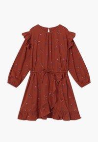 Soft Gallery - Denní šaty - red ochre - 0