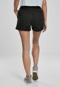 Urban Classics - FRAUEN  - Shorts - black - 1