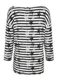Laura Kent - Long sleeved top - schwarz weiß - 2