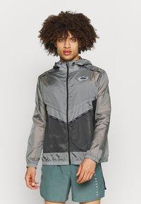 Nike Performance - Löparjacka - smoke grey/off noir/black/silver - 0