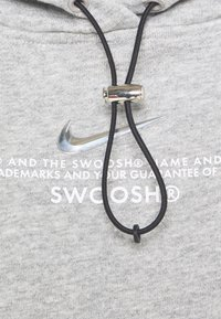 Nike Sportswear - HOODIE - Sweatshirt - dark grey heather/white - 6