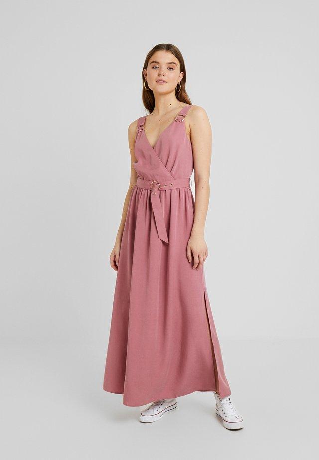 IMOGEN WRAP DRESS - Maxi dress - romantic rouge