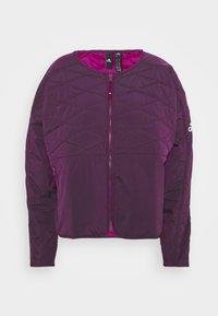 adidas Performance - PADDED - Sports jacket - berry - 5